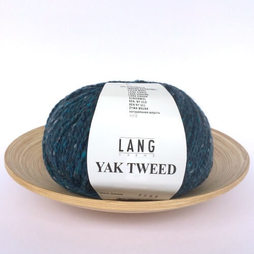 schoenstricken Lang Yarns Yak Tweed