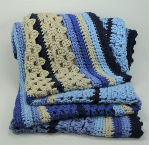 schoenstricken Crochet Along Kuscheldecke 1